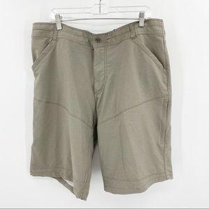 Kuhl Khaki Hiking Shorts 38